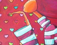 Trop d'amour 89 x 116 cm