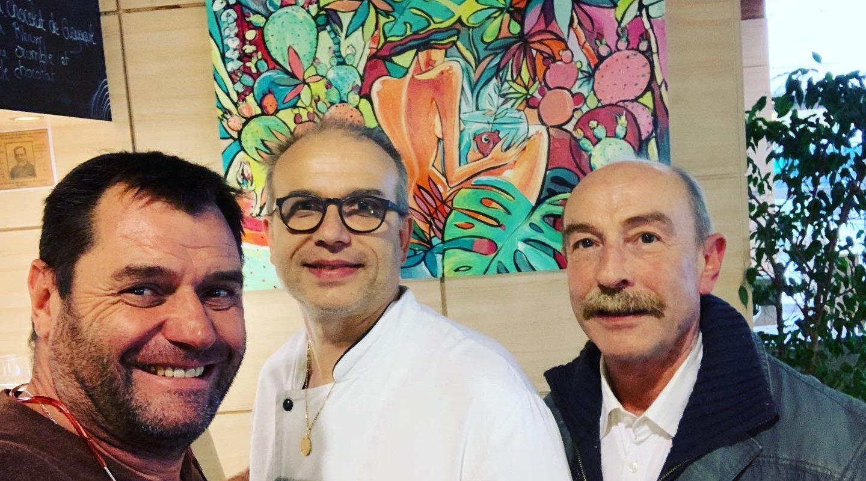 exposition au Restaurant Le Volcan