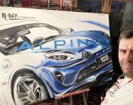 Alpine Renault A110 pour Bony Automobile Clermont-Ferrand